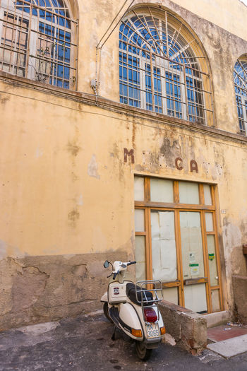 There's no market any more 2016 Architecture Building Exterior Day Italy No People Peter_lendvai Photography Phototrip Portoferraio Toscana Transportation Travel Window
