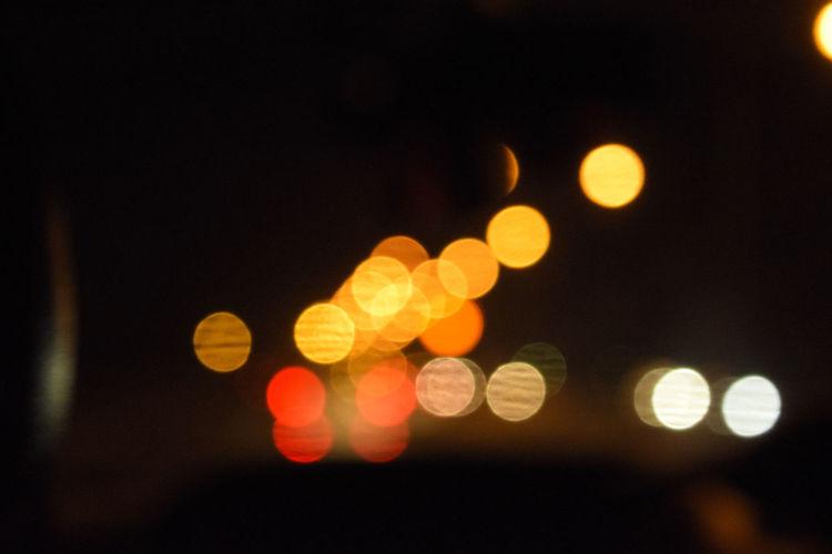 Blur focused