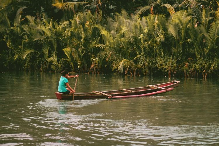 Rowing Water