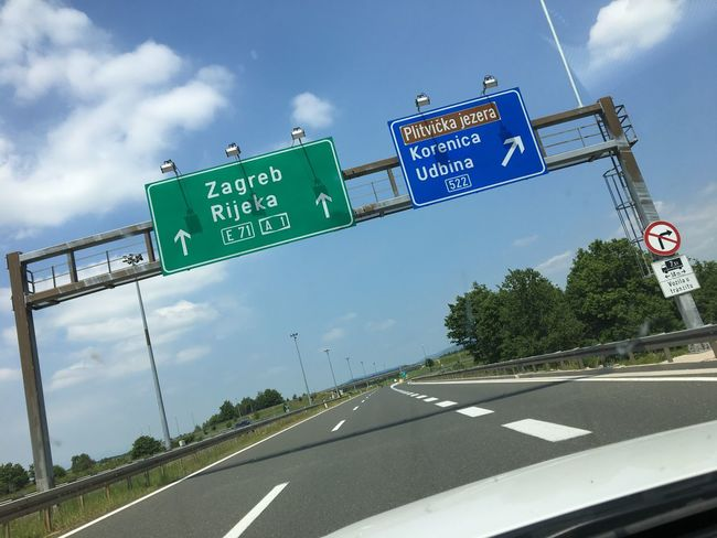 Cruising towards Zagreb! #AutocestaA1