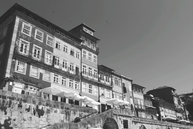 Oporto architecture, the most beautiful!!The Architect - 2017 EyeEm Awards Architecture History Oporto Oporto, Portugal Day Outdoors Building Exterior City No People Architecture Architecture_collection Portugal Photography Photography Lovers Canon 1200D Sunny Tourism Tourism In Portugal Tourist Attraction  Porto Blackandwhite Blackandwhite Photography
