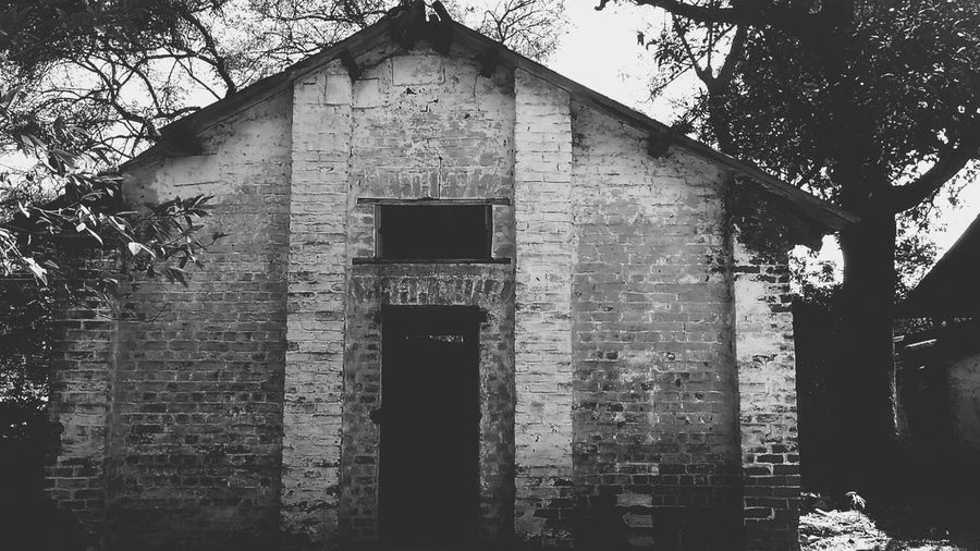 Blackandwhite Photography Building Exterior Built Structure Outdoors No People Gloomy Portrait Surrounded By Trees Unfettered Place The Secret Spaces EyeEmNewHere The Week On EyeEm Black And White Friday