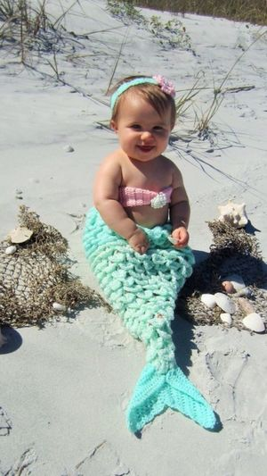 Not My Pic So Cute Little Mermaid. Ohhhhh it not my pic but had to share she is soooo cute
