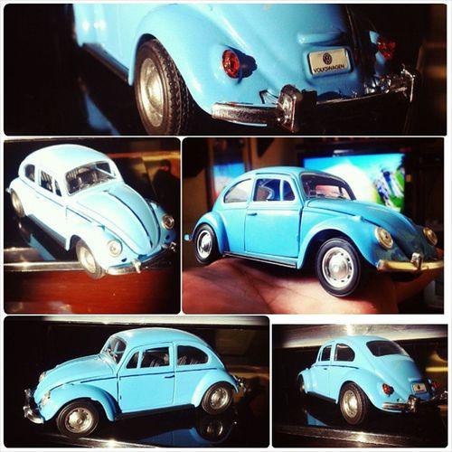 A felicidade em miniatura! Fusca Fusquinha VW Mini