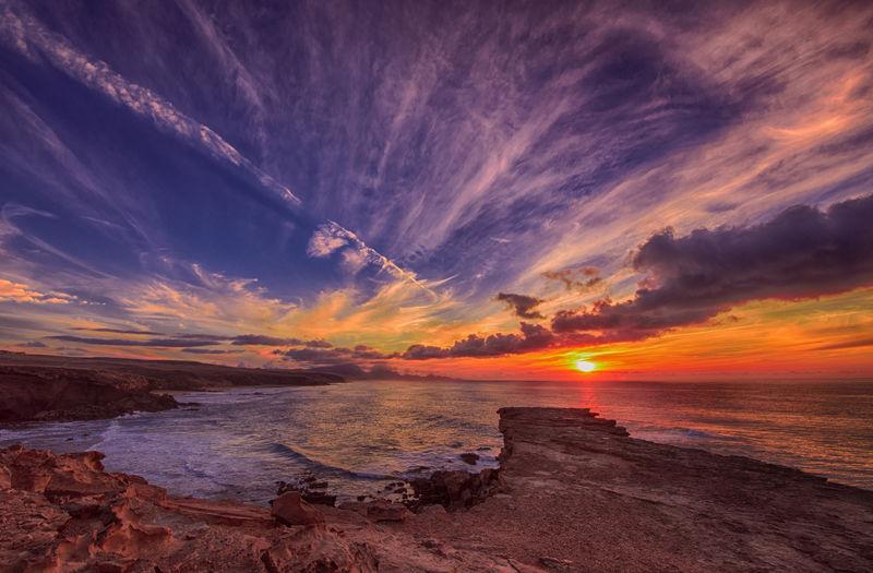 Canary Islands Nature Nikon View Cloud - Sky Clouds And Sky Ocean Sunset