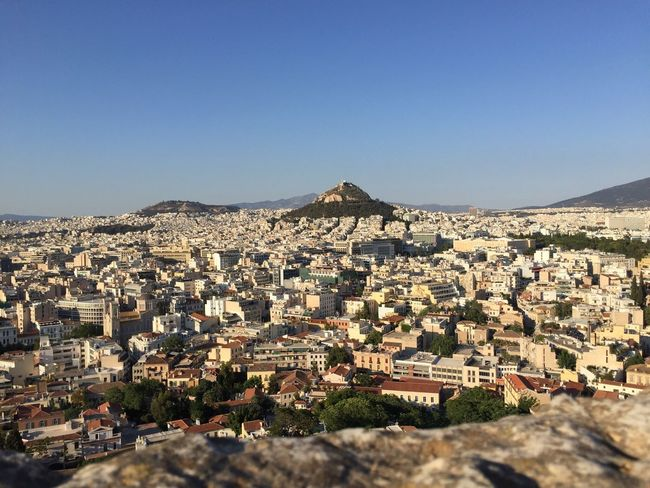 Athens, Greece Athen Athens City View View From Above City