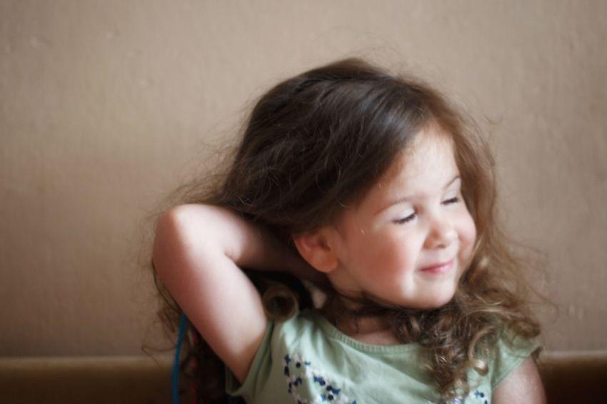 Child Childhood Portrait Girls Headshot Human Eye Brown Hair Front View Sadness Close-up The Portraitist - 2018 EyeEm Awards