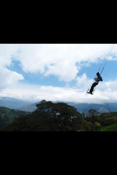 Ecuador Swingattheedgeoftheworld Adventure Explore Travel Studyabroad Swing ExploreEverything OpenEdit TheWeekOnEyeEM