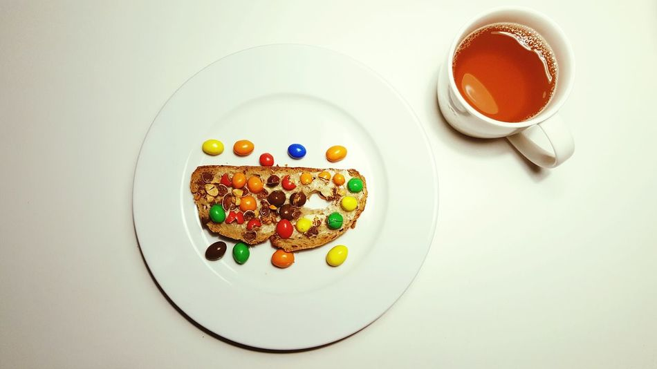 Healthy Eating No People Breakfast Darling Chocolate Peanutbutter Fit Food Food And Drink Food Day Morning Tea White Tea Cup Plate Ready-to-eat Darling♡
