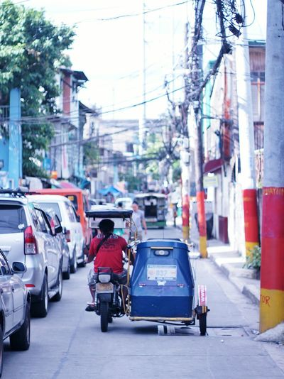 San Juan City Philippines Tricycle Driver Transportation ASIA Street Photography