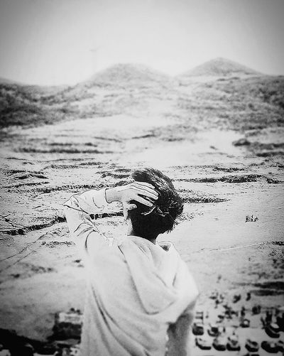 远方 Sky First Eyeem Photo Only Men Alone In The World Black & White