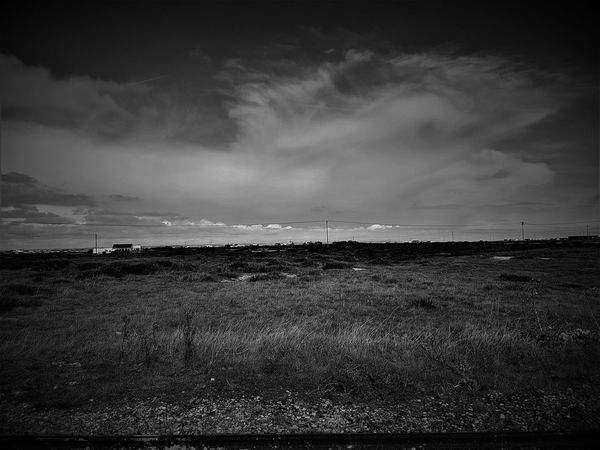 Dungeness Station RH&DR 2017 2017 2017 Year 2017 Photo Black & White Black & White Photography Beauty In Nature Black & White Collection Black And White Black And White Collection  Black And White Photography Black&white Black&white Photography Blackandwhite Blackandwhite Photography Blackandwhitephotography Cloud - Sky Day Field Grass Landscape Nature No People Outdoors Scenics Sky