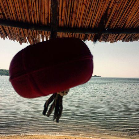 Hello World Goodnight Bodrum, Turkey Gümbet Paradise Beach Summer Sea Sky Blue