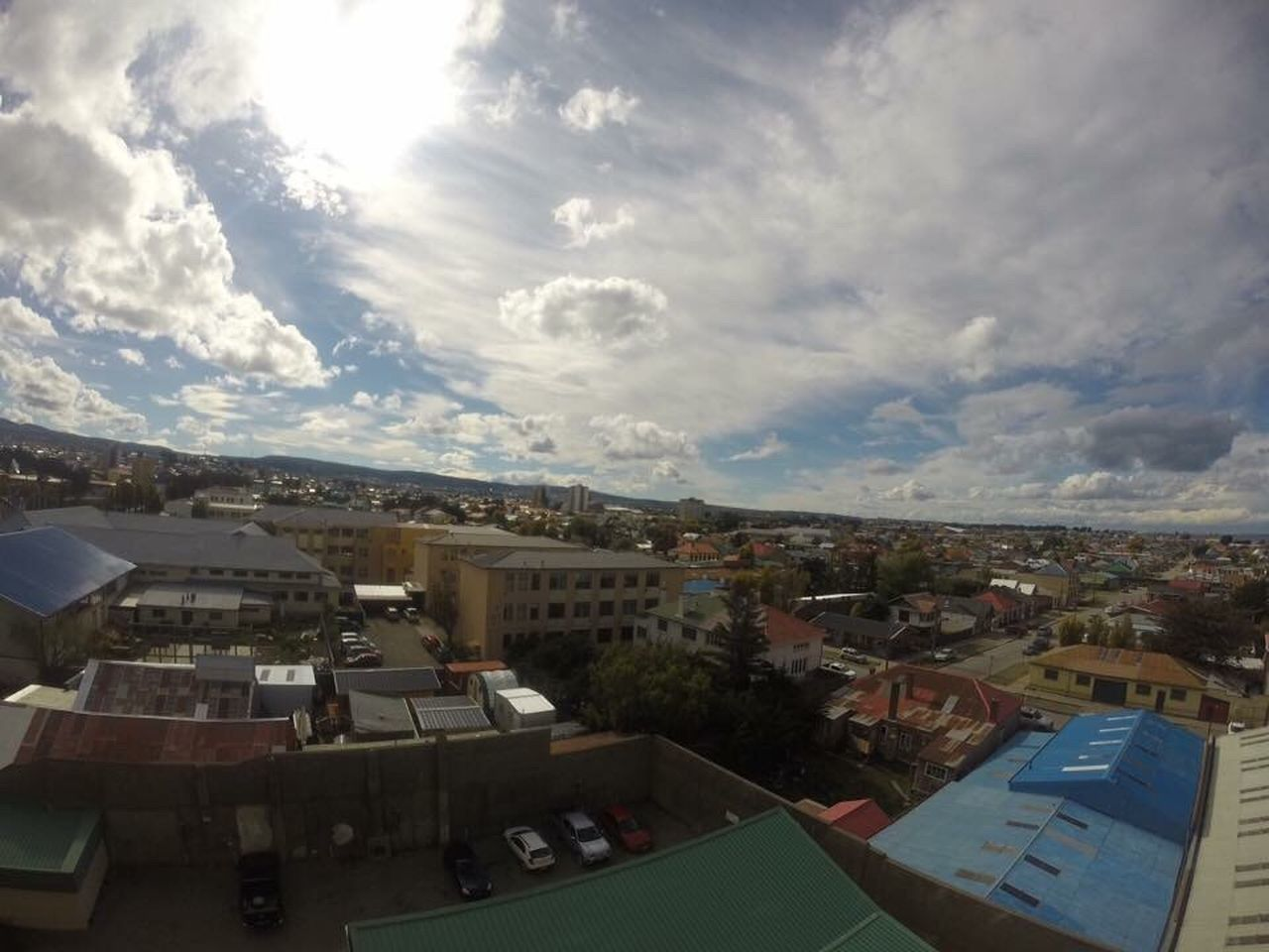 sky, town, architecture, no people, cityscape, city, outdoors, nature, day
