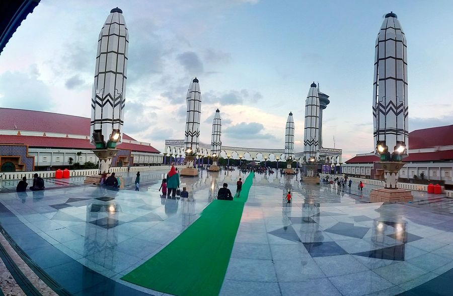 Masjid Agung Jawatengah Semarang INDONESIA Skyscape OpenEdit Muslim EyeEm Indonesia Bestshot Holliday NewYear Taking Photos Check This Out