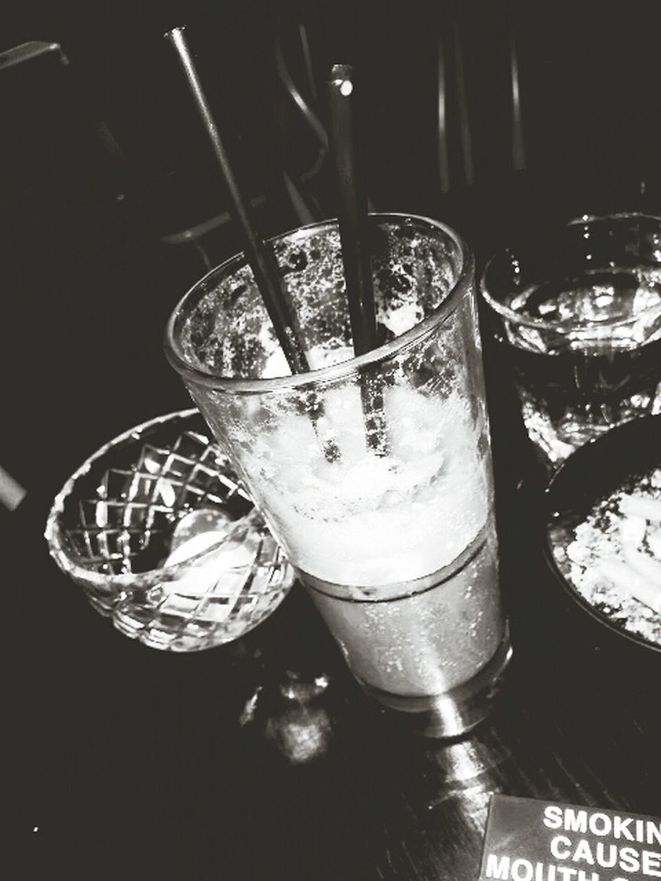 drink, refreshment, drinking glass, food and drink, drinking straw, table, no people, indoors, close-up, freshness, cocktail, alcohol, shot glass, day