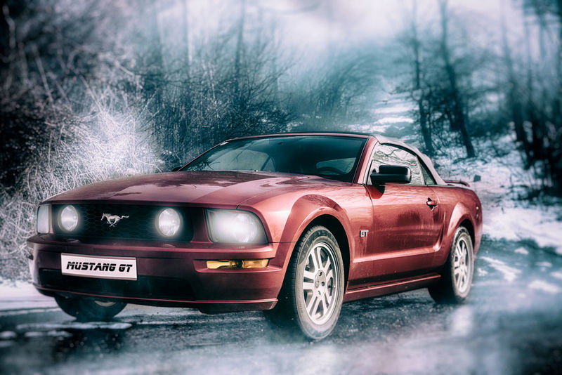 My Mustang GT 😊 Hello World Time Love Austria ❤ Sony Ggaßler Tirol  Photography Zeisslens Passion Wintertime Fun Muscle Cars Canada Rain Motion Old-fashioned