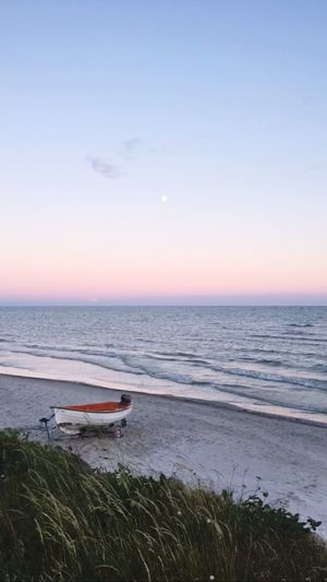 Møn Denmark Summer Bliss The Ocean Ocean Sea Water Waves Boat Beach Nature Calm Beauty In Nature Beauty Fine Art Photography Hidden Gems  Home Is Where The Art Is The Great Outdoors - 2017 EyeEm Awards An Eye For Travel