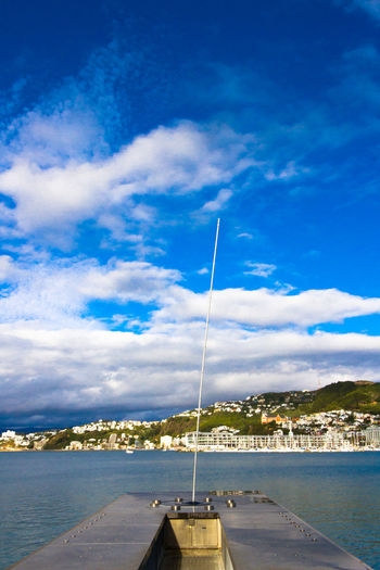 Wellington Harbour - Water Whirler Architecture Built Structure Cityscape Cloud Cloud - Sky Mountain Ocean Outdoors Sky Travel Travel Photography Water Wellington  Wellington Nz Wellington Water Whir Wellingtonnz Wellingtonnz