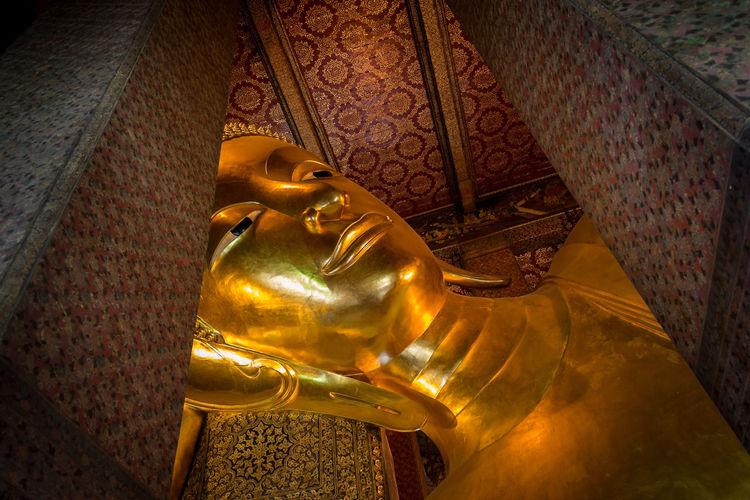 พระพุทธไสยาส วัดพระเชตุพนวิมลมังคลารามราชวรมหาวิหาร buddha watpho Buddha Thailand Architecture Art And Craft Religion Sculpture Thailandtravel Unseenthailand Watpho
