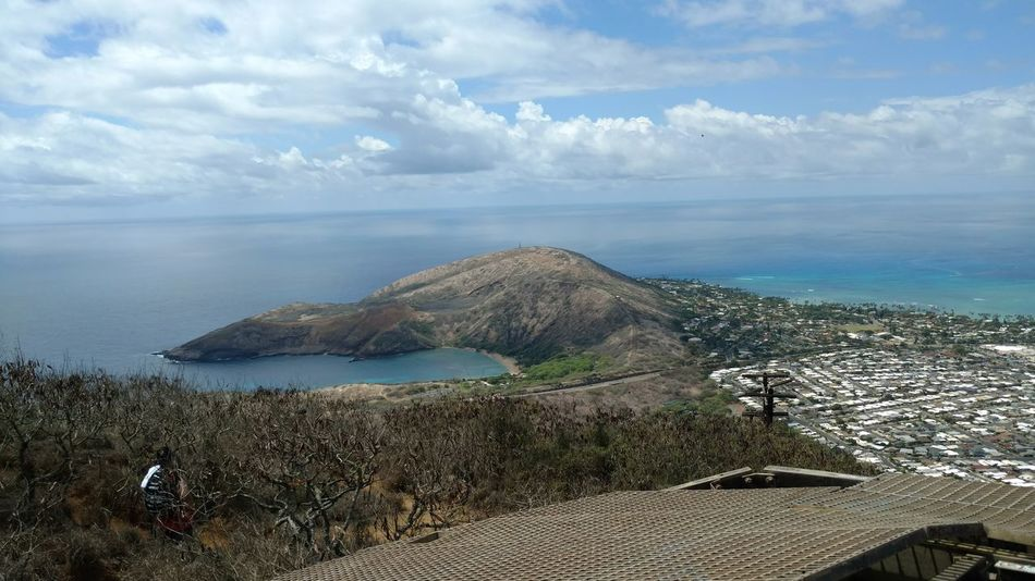 Sea One Person Nature Beach Day Water Outdoors Horizon Over Water People Scenics Men Adult Sky Beauty In Nature Only Men Adults Only One Man Only Koko Head Trail Oahu, Hawaii Cloud - Sky Travel Destinations Hawaii No Filter No Filter No Edit Just Photography Tropical Climate