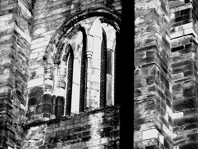 Elgin Cathedral extreme B/W edit Arch Architectural Column Architecture Architecture B/w Collection B/W Photography Brick Wall Building Building Exterior Built Structure Column Day Exterior Eye Em Scotland Historic History In A Row Low Angle View Old Old Buildings Ruined Scotland Uk Window Windows