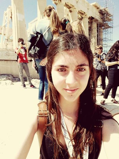 Original Experiences 43 Golden Moments Enjoying Life Having A Good Time Hello World Girl Power Hi! Check This Out Beautiful ♥ Acropolis Acropolis, Athens Visiting Athens Athens, Greece Educational Program by Greek Parliament for Teenagers  Showcase July