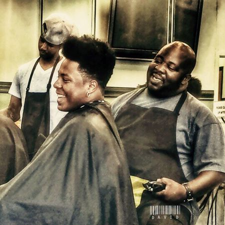 Dont be afraid to laugh. Haircut Hdr_Collection people Urban