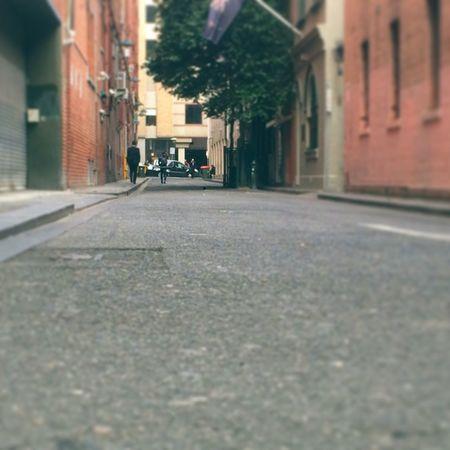 Vintage pink Street Road City Asphalt Empty City Life