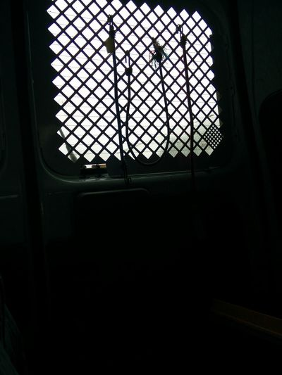 Jail in a car