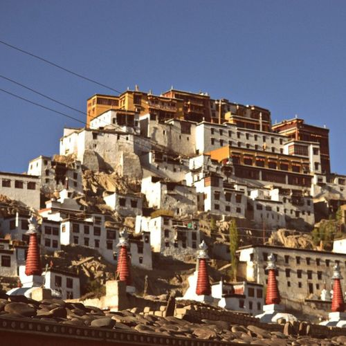 Thiksey Monastery Leh Ladakh Photography: Shelly Sharma