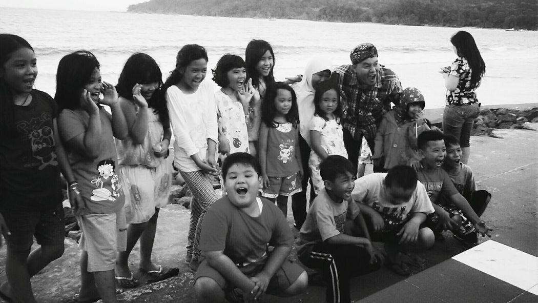 Children Photography Children Portraits Pangandaran Beach Sunset Enjoyment Open Edit
