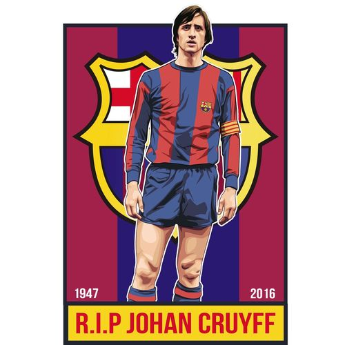 #JohanCruyff Tribute vector art just done now available on T-Shirts and more. Pukkaprintgifts.co.uk