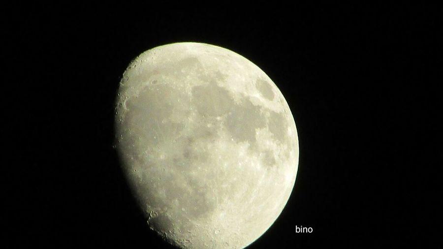Moon Surface Tonights Cadillac Sky Pure Michigan