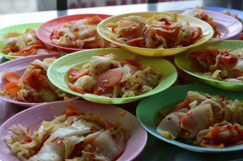 Lot Pickle Stack Vegetable Vietnam Vietnamese Food