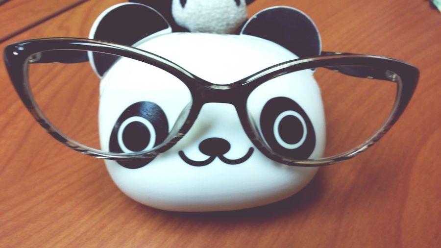 Panda nerd! I Love Pandas *-* My Nerd Glasses Enjoying Life Taking Photo Panda! Helloworld
