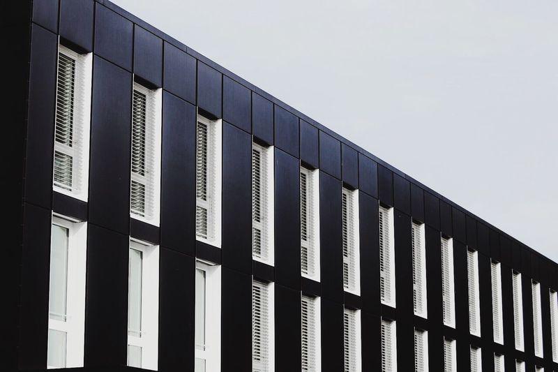 Architecture Building Exterior City Clear Sky Office Building City Life Geometric Shape Trip GERMANY🇩🇪DEUTSCHERLAND@ Minimalism Erding Canonphotography