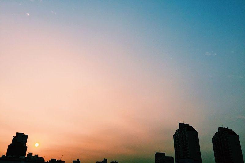 Emk3ico Sunset Seoul Korea Iphone6 VSCO