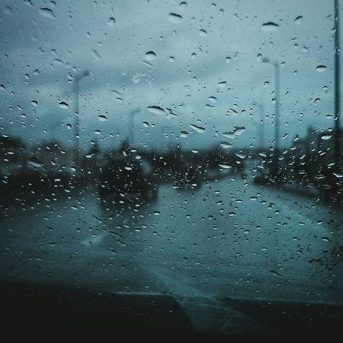 Sightseeing Boarding On The Road With My Bestie <3 With My Love Hanging Out With My Girl :) With My Girlfriend  Raining Day Rain Raindrops