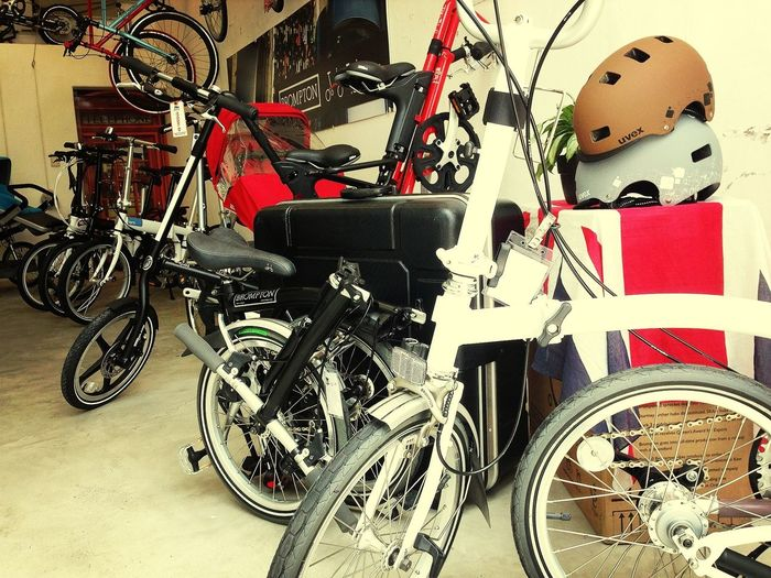 Nada como una bici pleganle de Bike Pub