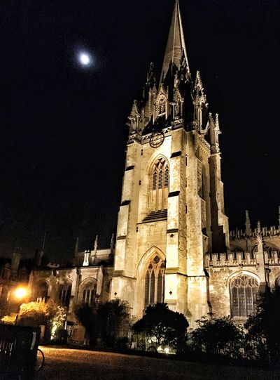 Oxford Cathedral OxfordUniversity Autumn Nightphotography First Eyeem Photo