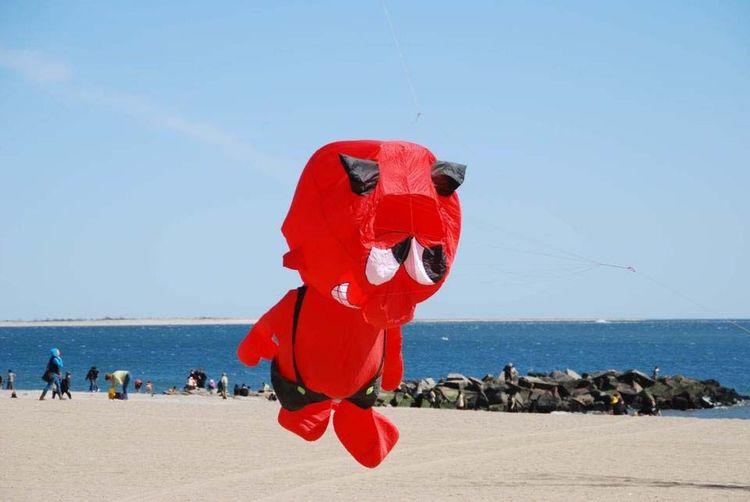 Coneyisland Beach Inflatable  Devil