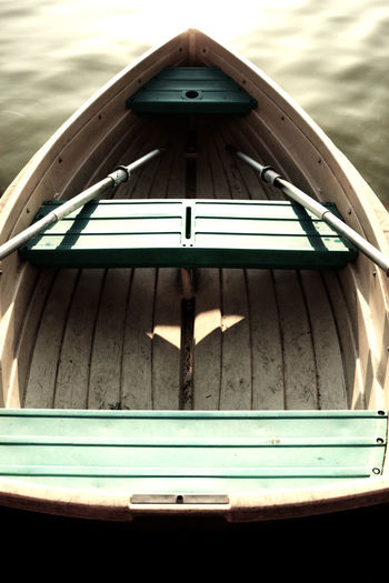 Quiet Moments Boat Close-up Day Mindfulness Moment No People Outdoors Peaceful Water Boat