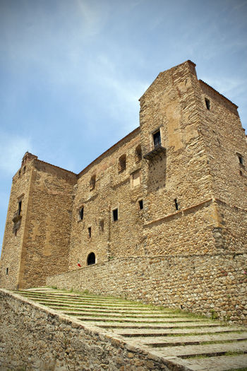 Castelbuono, Sicily Castelbuono Ancient Ancient Civilization Architecture Building Building Exterior Built Structure Castle Cloud - Sky Day Fort History Low Angle View Nature No People Old Outdoors Ruined Sky Stone Wall The Past Tourism Travel Travel Destinations Wall
