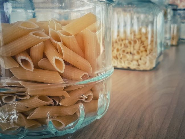 Jar Indoors  No People Close-up Healthy Eating Food Freshness Day Pasta