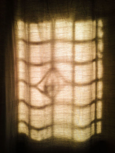 Full frame shot of curtain at home