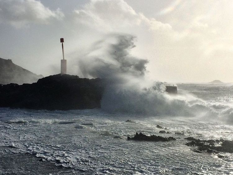 Sea Waves Storm Tempête Vagues Mer