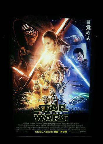 スターウォーズ フォースの覚醒 Starwars Episode7 MOVIE Movie Theater