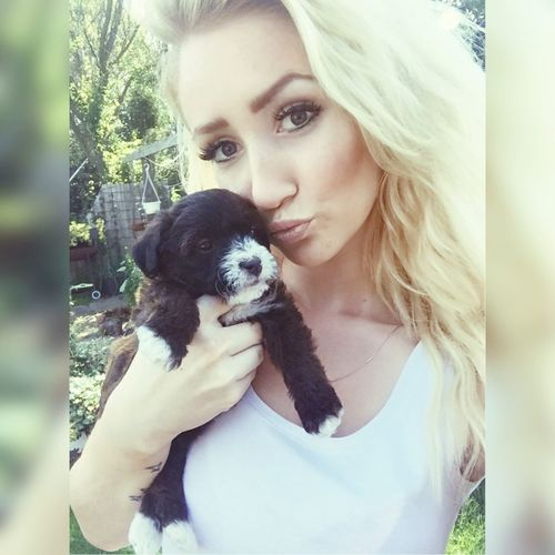 NewPuppy Puppy Love Girly Selfie ✌ Makeup Sun Lovely Happiness