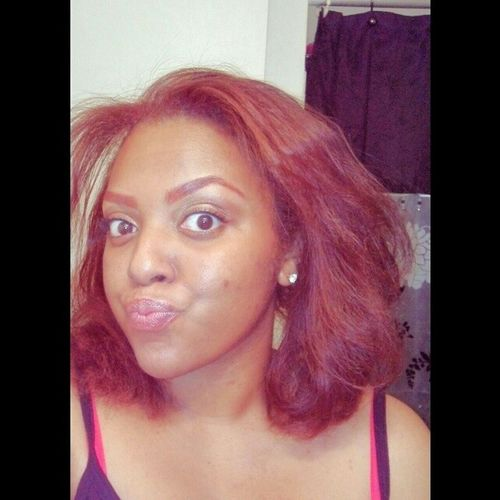 Kinda love being a redhead!!! Sillychica Besos Rojo Redequalstrouble